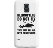 Helicopter Submission Samsung Galaxy Case/Skin