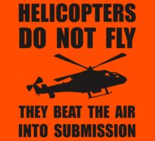 Helicopter Submission Kids Clothes