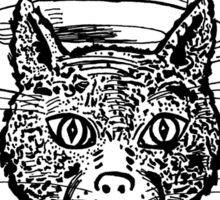 Tophat Cat Sticker