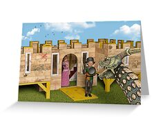 The Princess and The Knight - Playtime Greeting Card