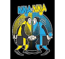 Ninja VS Ninja Photographic Print