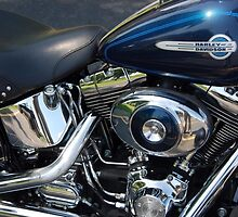 The Motorcycle as Art: Heritage Softail > by John Schneider