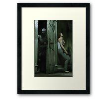 Necrophobia - Zombie Horror  Framed Print