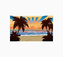 Sunset on beach  Unisex T-Shirt