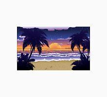 Sunset on beach 2 T-Shirt