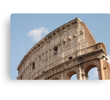 Colosseum in Springtime: Ancient Rome, Italy Canvas Print