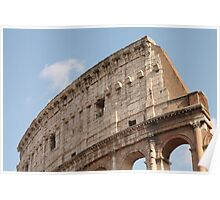 Colosseum in Springtime: Ancient Rome, Italy Poster