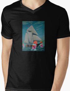 Beaker Bay Mens V-Neck T-Shirt
