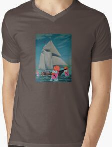 Beaker Bay Mens V-Neck T-Shirt