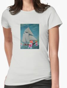 Beaker Bay Womens Fitted T-Shirt