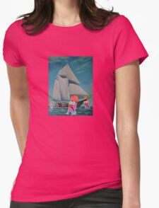 Beaker Bay Womens Fitted T-Shirt