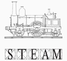 Steam Train Kids Clothes