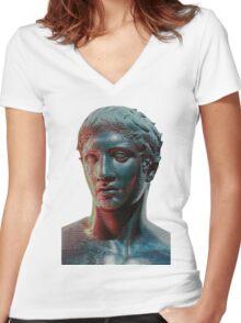 She's so Borg Women's Fitted V-Neck T-Shirt