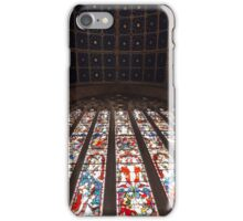 East Window and ceiling at Carlisle Cathedral iPhone Case/Skin