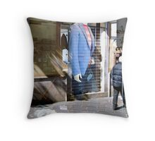 Business Suit Throw Pillow