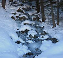 frozen waterfall by anfa77
