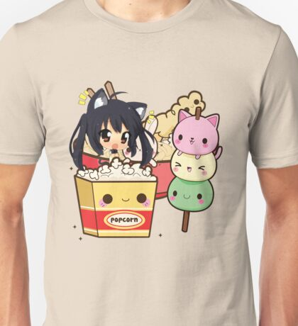 Kawaii Food - Azunyan Unisex T-Shirt