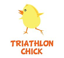 Triathlon Chick by AmazingMart