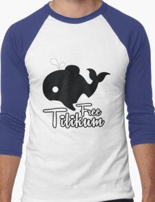 Orca Tilikum Men's Baseball ¾ T-Shirt