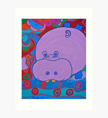 Happy Hipp Art Print