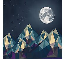 Night Mountains No. 1 Photographic Print