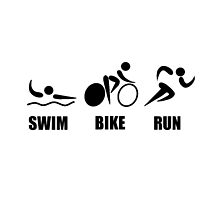 Triathlon Swim Bike Run by AmazingMart