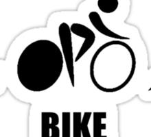 Triathlon Swim Bike Run Sticker