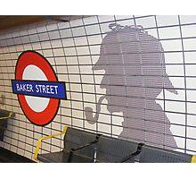 sherlock holmes, baker street Photographic Print