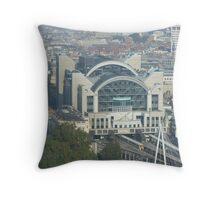 train station, london Throw Pillow