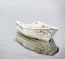 Lonely boat by Bluesrose