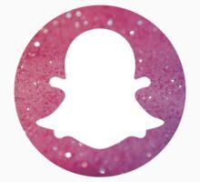 Pink Glitter Snapchat! by Rachelyouens