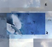 Composition With Birds and Clouds by Ivana Redwine