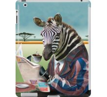 Zebra Morning iPad Case/Skin