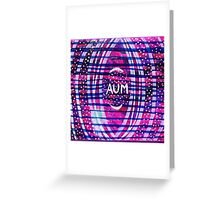 Aum & Stars: Inner Power Painting Greeting Card