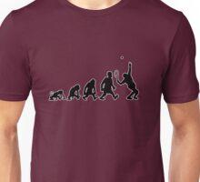 tennis sport darwin evolution Unisex T-Shirt