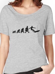 surf  surfing darwin evolution Women's Relaxed Fit T-Shirt
