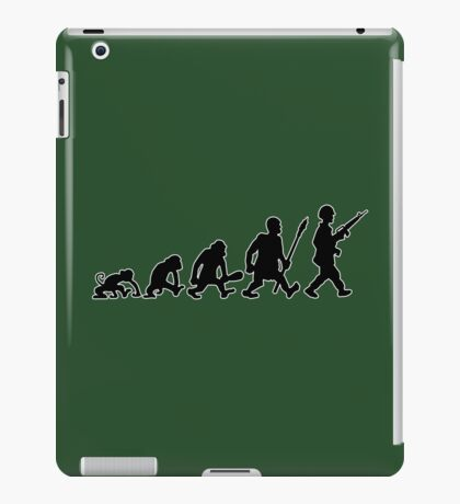 army soldat  navy warrior gun soldier iPad Case/Skin