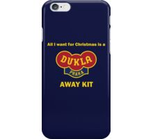 Dukla Prague Away Kit iPhone Case/Skin