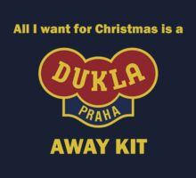 Dukla Prague Away Kit Kids Clothes