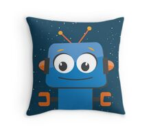 T&S Robot Throw Pillow