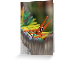 One in the Crowd Greeting Card
