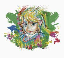 Epic Link Streetart Tshirts + More ' Legend of Zelda ' Jonny2may Kids Clothes