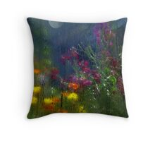 Reflections Through The Greenhouse Throw Pillow
