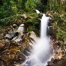 Jeram Toi Waterfall by Steven  Siow