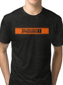 New Challenger Approaching [!] Tri-blend T-Shirt