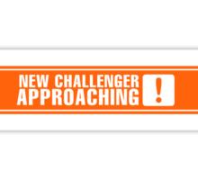 New Challenger Approaching [!] Sticker
