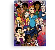 Community: 100 Episodes Canvas Print