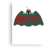 Boba Fett | Batman TV Logo | Boba Fett Canvas Print