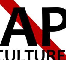 No Rape Culture Sticker