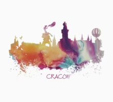 Cracow Poland skyline Kids Clothes